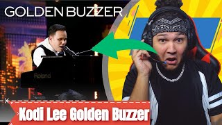 Golden Buzzer: Kodi Lee Wows You With A Historical Music Moment! - AGT 2019 REACTION!!