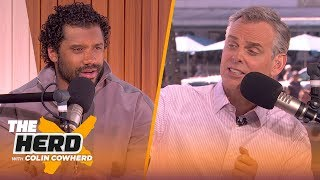 Russell Wilson details his devotion to football & Week 17 loss to 49ers | THE HERD | LIVE FROM MIAMI