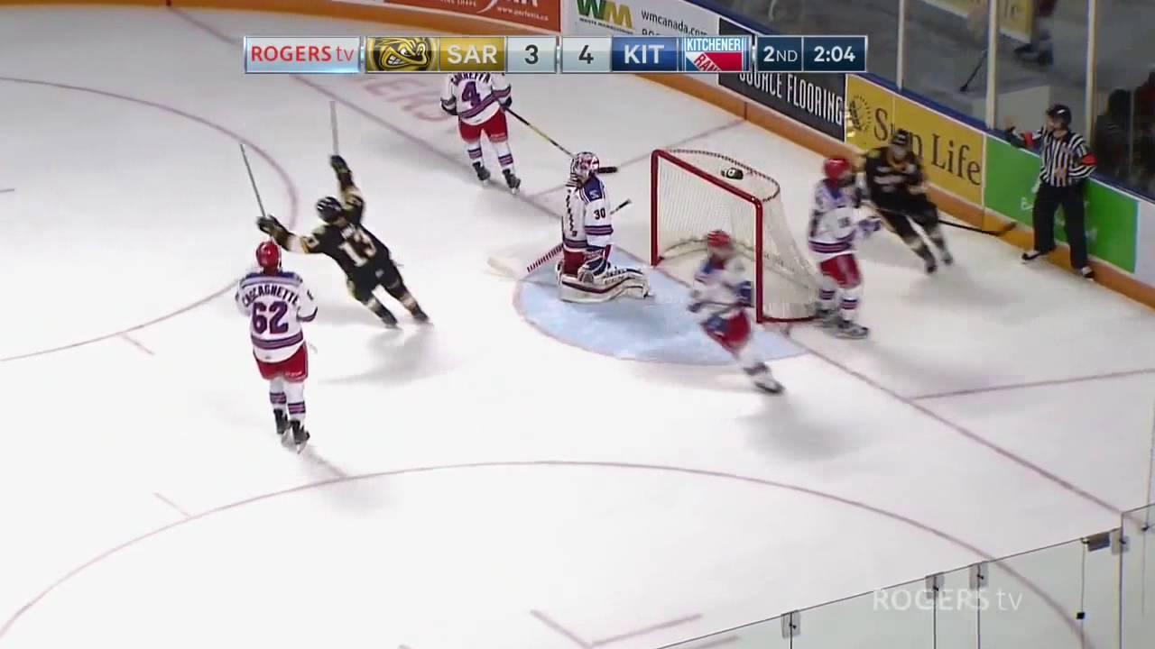 Oct 07, 2016 OHL: Nikita Korostelyov goal vs Kitchener Rangers - YouTube
