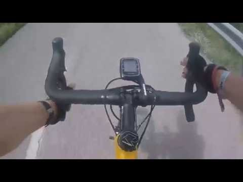 cycling with music