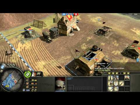 Company of Heroes - Skirmish - Soviet Union vs Germany