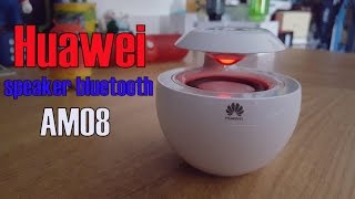 Huawei Speaker Bluetooth AM08 - Review & Unboxing (360º 3D Surround)