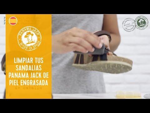 Cómo limpiar tus sandalias de mujer Panama Jack de piel Engrasada