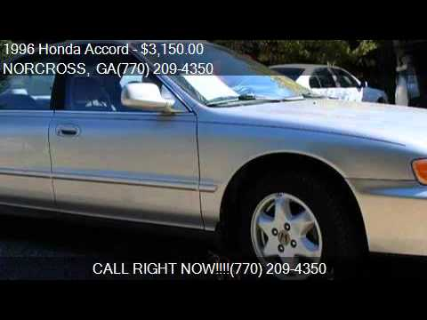 1996 Honda Accord EX V6 For Sale In NORCROSS, GA 30071 At NO