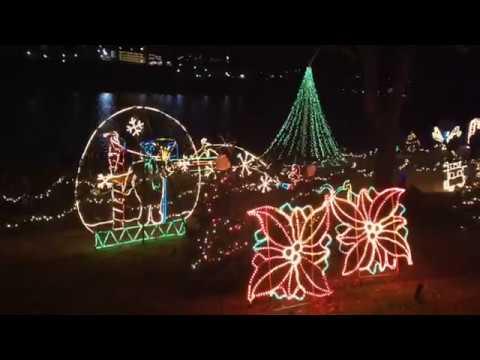 Marble Falls Christmas Lights.Marble Falls Walkway Of Lights 2017