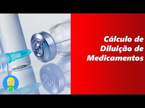 cálculo-de-diluição-de-medicamentos