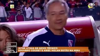 Ricardo Colbachini comandará Internacional contra o Avaí