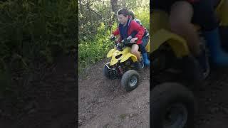 Когда ребенок счаслив. Квадроцикл. Лето 2018 Красноярск