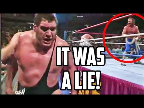 Andre The Giant's Biggest Lies!