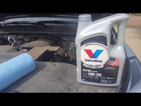 GMC YUKON XL Oil Change