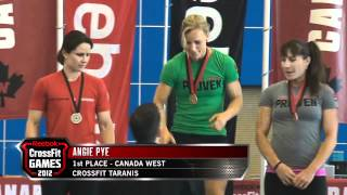 2012 Regionals - Qualified Athletes: Canada West Women