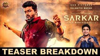 Sarkar Teaser BreakDown | #Thalapathy | #Vijay | #ARmurugadoss | AR.Rahman | Sarkar