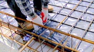 Budowa domu część 3. Strop i konstrukcje żelbetowe. Wykonanie zbrojeń stropu