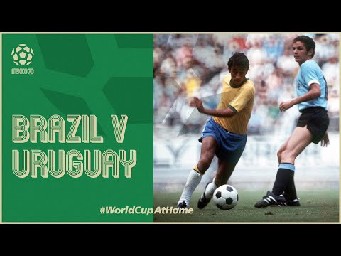 Brazil 3-1 Uruguay   Extended Highlights   1970 FIFA World Cup