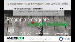 PYMES - Programa Emergente de Atención a Empresas Mexicanas - AMEXICCOR