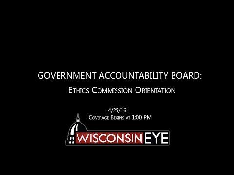 1 PM | GAB Ethics Commission Orientation
