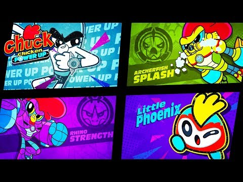 Chuck Chicken Power Up Special Edition - Most interesting - Superhero cartoons  - Action Cartoon