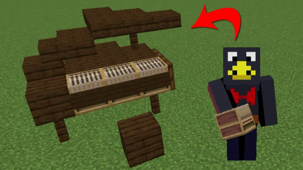 I Made A Piano In Minecraft And Played On It Youtube