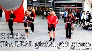 Z-Girls speaking in Korean | Streets of Gold @ Sinchon, Korea (013120)