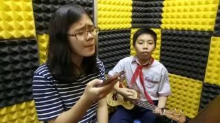 Tết Xa UKULELE (Huyền Trang + Dương) - Lớp nhạc Giáng Sol