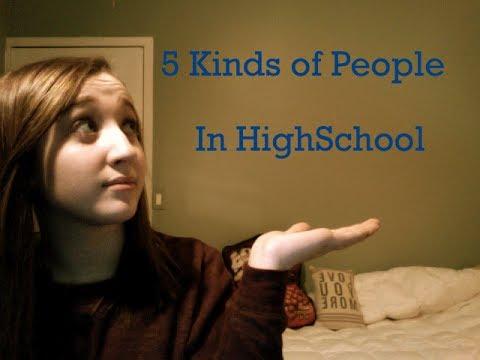Types of People in HighSchool