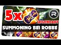 5 LEGENDARYS opening bei Robbe || Summoners war [German/Deutsch iOS Android APP]