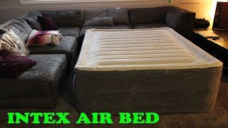 Intex  Dura-Beam Plus Airbed with Built-in Electric Pump Review