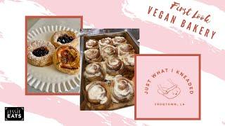 FIRST LOOK JustWhatIKneaded | New Vegan Bakery in Los Angeles