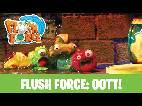 Flush Force: Out Of The Toilet! - Official Series Trailer!
