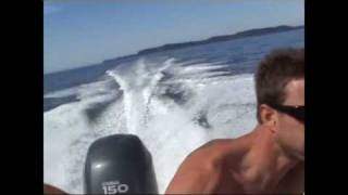journée bateau et wake 2007