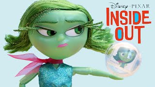 Disney Inside Out Movie Deluxe Talking Disgust Doll Toy Review
