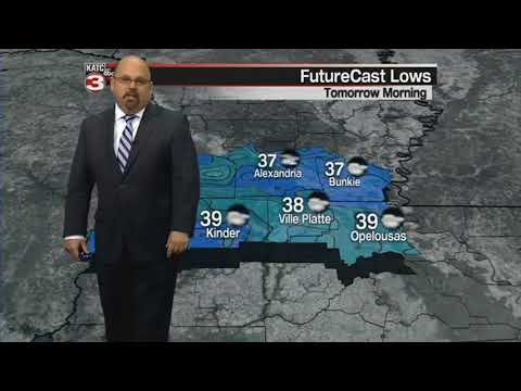 Rob's Monday 6pm WeatherCast
