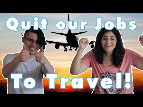 We Quit our Jobs to Travel the World! The Travel Diaires Channel Introduction