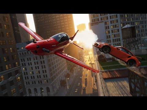 The Crew 2 PC Footage - Switching Between Cars, Boats, And Planes On The Fly