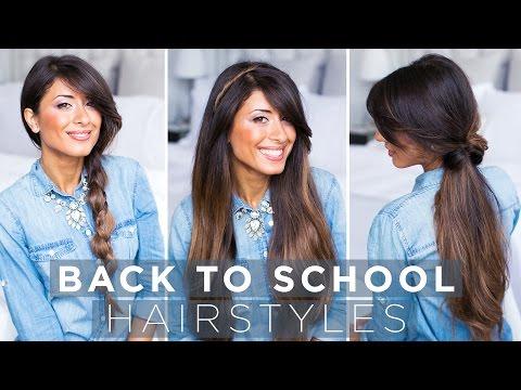 Cute & Easy Back To School Hairstyles