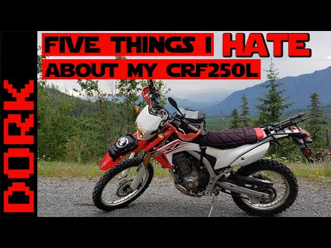 Five Things I HATE About My Honda CRF 250L: A One-Sided Honda CRF250L Review