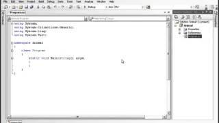 Урок 2 C# Структура первой программы