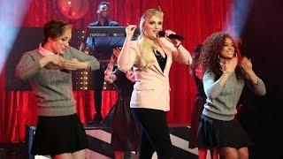 Meghan Trainor Performs