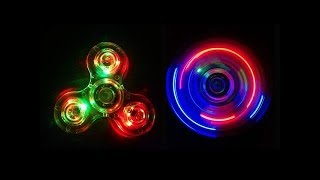 ТОП 7 СПИННЕРОВ С ПОДСВЕТКОЙ НА AliExpress / Top LED Hand Spinner Aliexpress / Bluetooth Spinner