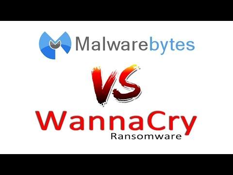Malwarebytes VS WannaCry Ransomware - YouTube