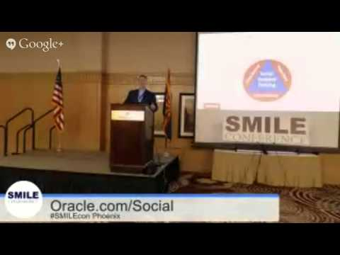 #SMILECon Technical Presentaion: enhance citizen engagement on social media with Oracle social re...