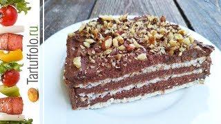 видео торт без выпечки