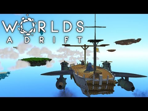 Island hopping for resources to get back into T4. Worlds Adrift