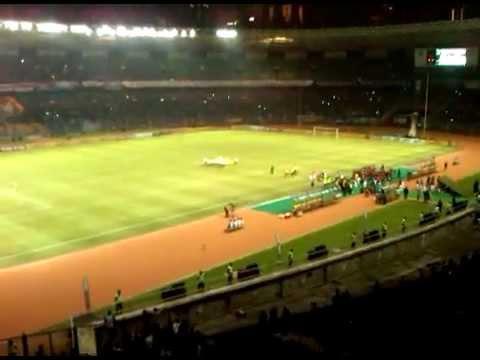 sesaat sebelum kickoff internazionale vs timnas indonesia 26 mei 2012