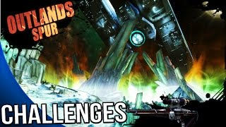 Borderlands The Pre Sequel - Outlands Spur Challenges - Symbols, Posters, Signs, Boomer