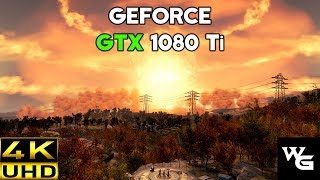 Fallout 4 on GTX 1080 Ti (4K UHD Frame Rate Test) + Ultra Graphics