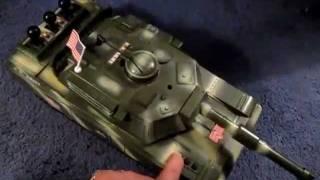 GI Joe USA ARMY Hasbro Tank Truck And Figures GIJoe