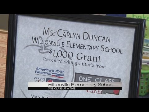 One Class at a Time: Wilsonville Elementary School