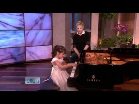 Umi Garrett Plays For Ellen
