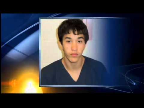 teen charged with killing his father -- gets lucky break
